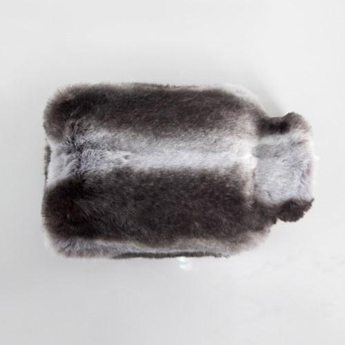 法國EvelynePrelonge 深咖啡條紋熱水保溫套