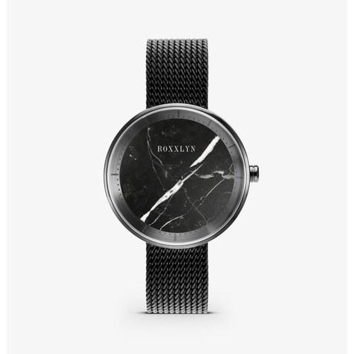 德國Roxxlyn NeroMarquina大理石腕錶 (黑)