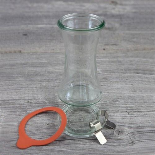 德國Weck 995玻璃密封罐 Deli Jar 200ml (6入)