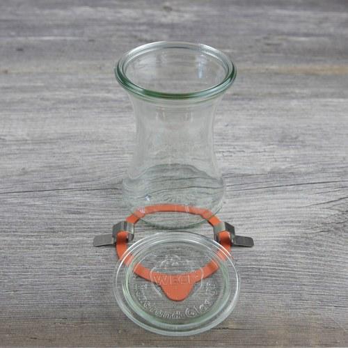 德國Weck 996玻璃密封罐 Deli Jar 370ml (6入)