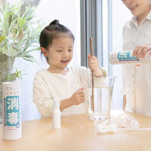 EarthFriend 消毒漂布之人-消毒殺菌粉-撒粉紙罐