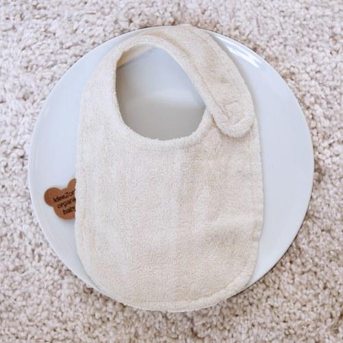 日本今治毛巾 有機純棉小熊圍兜