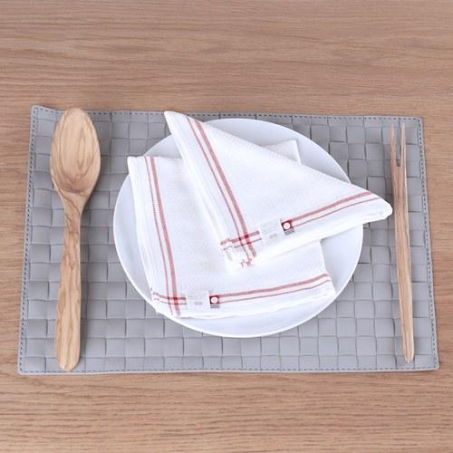 日本今治毛巾 紅色海軍風擦手巾 (小)