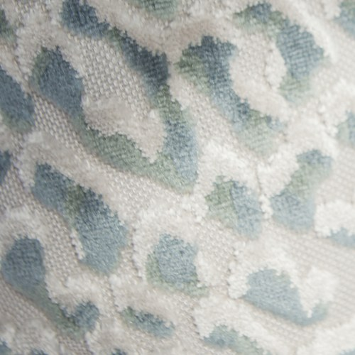 英國 Alexander&James 豹紋方形靠枕 (綠、51公分)