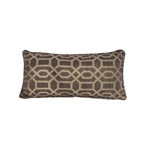 英國 Alexander&James 古典磚紋長形靠枕 (50公分)
