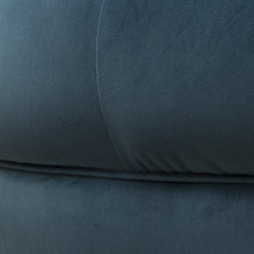 英國 Alexander&James 英倫古典圓弧三人沙發 (軍藍)