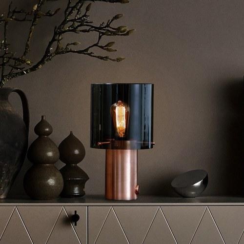 英國Original BTC WALTER 玻璃桌燈 (煙燻灰)