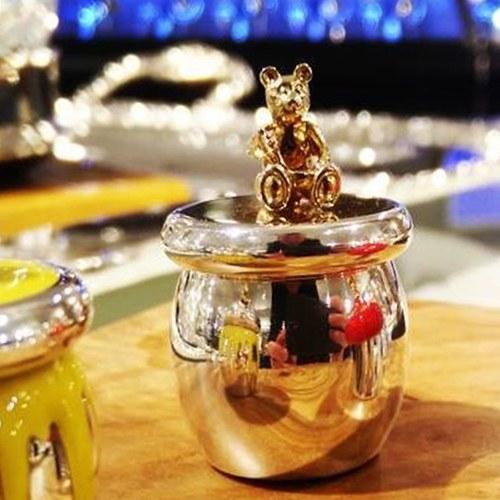英國Carrs銀器 珍藏彌月禮-甜蜜熊紀念盒