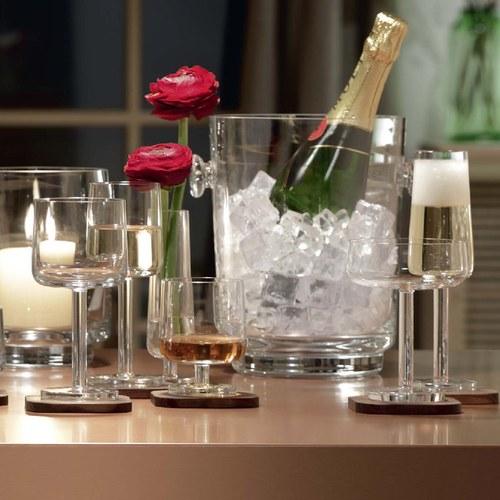 英國LSA 摩登附盤派對香檳杯2入組