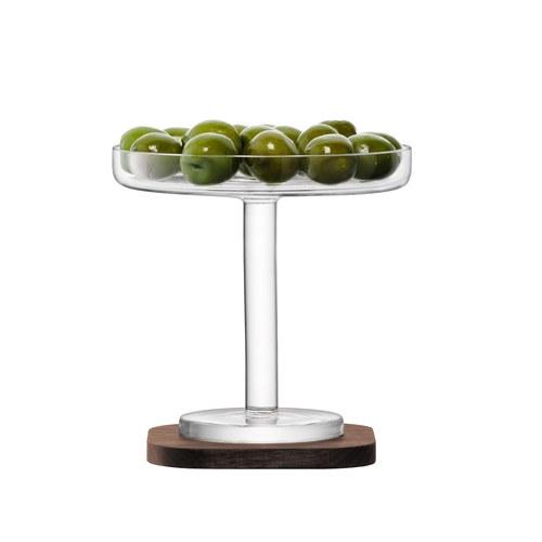 英國LSA 摩登附盤淺橄欖杯