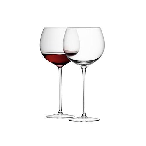 英國LSA 經典圓球紅酒杯4入組