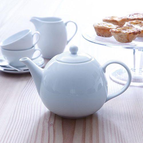 英國LSA 白瓷鄉村茶壺 (小、750ml)