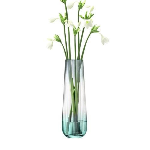 英國LSA 薄暮漸層暈染花器 (草綠、高36公分)