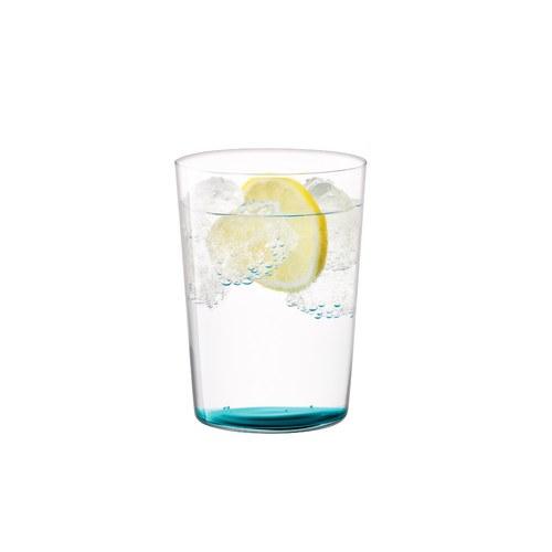 英國LSA 清新底彩玻璃杯4入組 560ml (水藍色系)