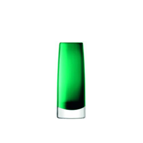 英國LSA 植粹弧線型花器 (森林綠、高16公分)