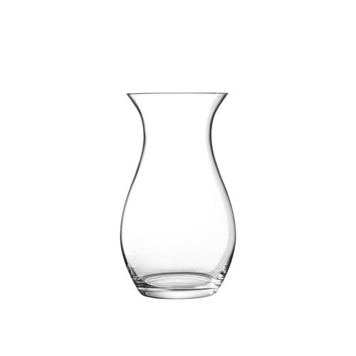 英國LSA 水滴弧底玻璃花器 (清透、高50公分)