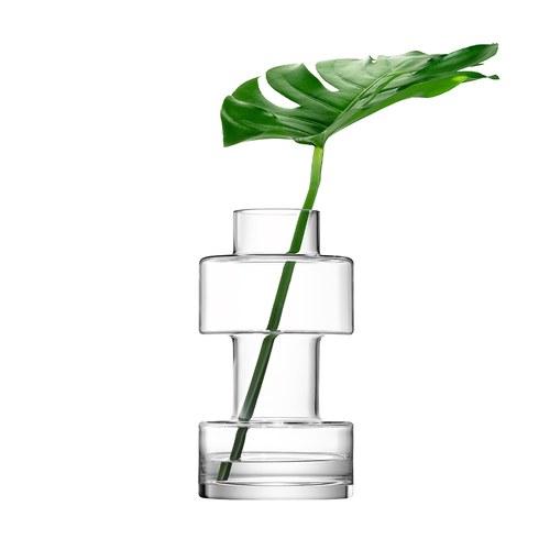 英國LSA 積木城市玻璃花器 (高33公分)