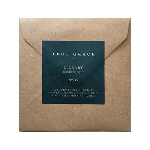 英國TrueGrace香氛片 N°35 圖書館