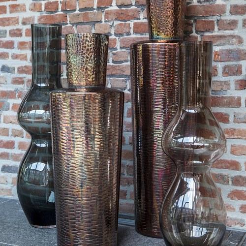 比利時DomeDeco 造型玻璃花器 (墨綠)