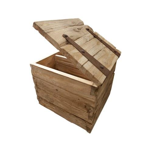 比利時Sempre 質樸實木收納盒