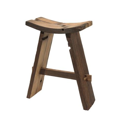 比利時Sempre 質樸圓弧椅凳 (高76公分)