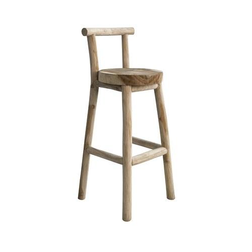 比利時Sempre 鄉村風高腳吧檯椅