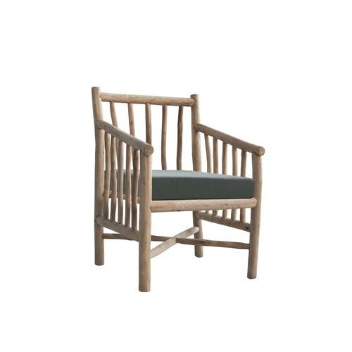 比利時Sempre 原木單人休憩扶手椅