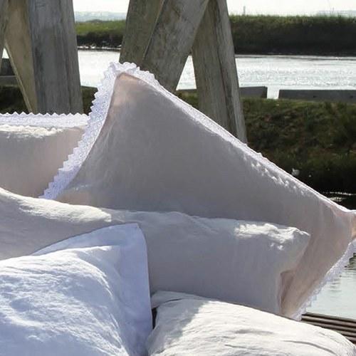 葡萄牙Amalia FlordeSal 有邊飾枕套1入 (米)