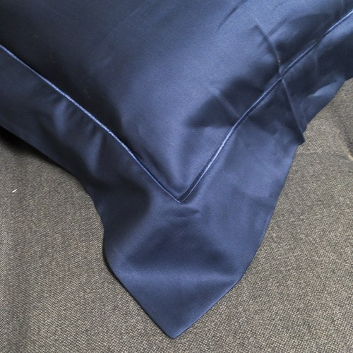 葡萄牙Amalia 埃及棉深藍色枕套 1入 ( Queluz )