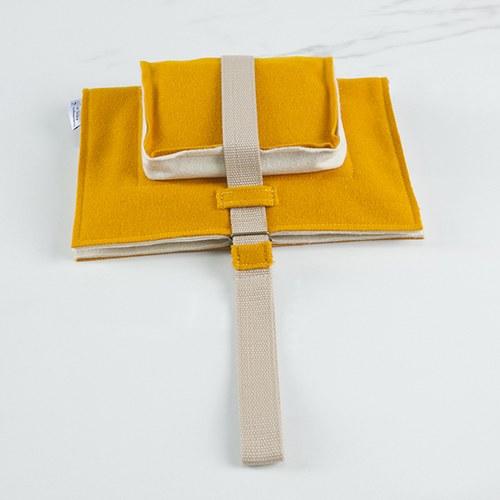 葡萄牙BUREL 提袋款平板保護包 (橘黃)