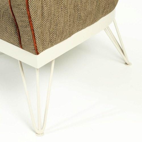 葡萄牙Mambo 經典紅色滾邊單人沙發椅