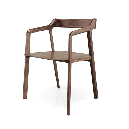 葡萄牙WEWOOD 昆德拉單人椅 (核桃木)