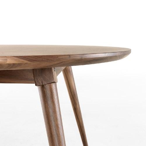 葡萄牙WEWOOD 簡約圓桌 (核桃木)