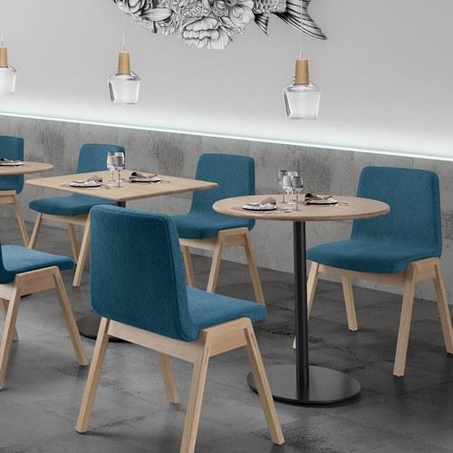 葡萄牙WEWOOD BISTRO方形簡約咖啡桌 (橡木)