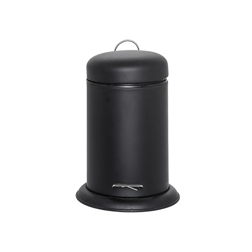 丹麥Bloomingville 金屬黑極簡垃圾桶