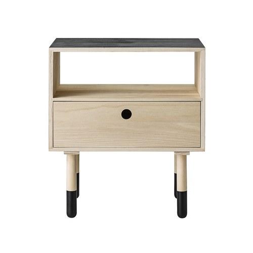 丹麥Bloomingville 北歐風木製床頭櫃