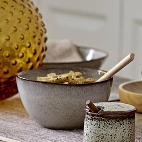 丹麥Bloomingville 地中海系列湯碗