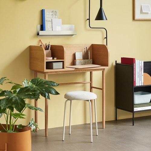 丹麥Hubsch 收藏家橡木書桌