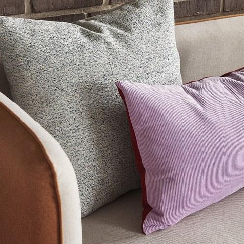 丹麥Hubsch 稻禾日光布面雙人沙發