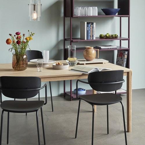 丹麥Hubsch 森林童話橡木長桌 (長140公分)
