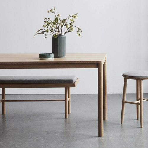 丹麥Hubsch 森林童話橡木長桌 (長200公分)