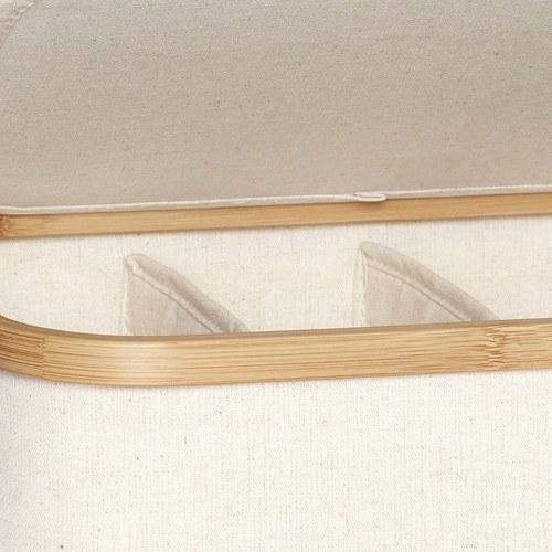 丹麥Hubsch 帆布多格收納盒2入組