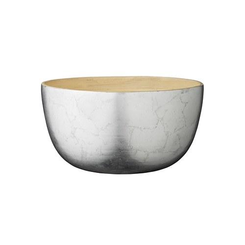 丹麥LeneBjerre 銀竹雙材質碗