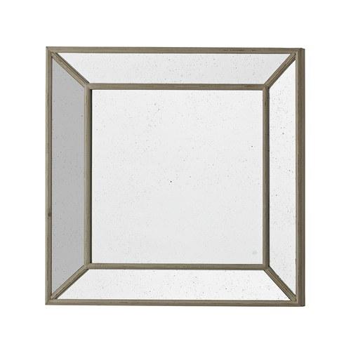 丹麥LeneBjerre 暗銀方型立體掛鏡