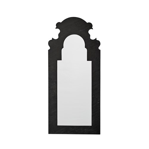 丹麥LeneBjerre 巴洛克式黑色掛鏡