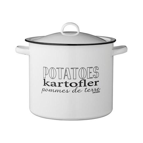 丹麥LeneBjerre 鄉村風儲物罐 (直徑21.5公分)