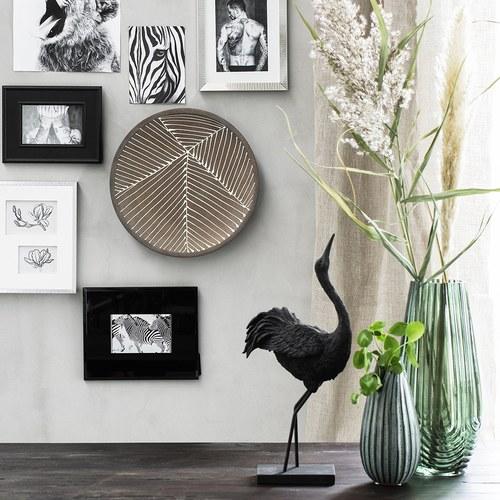 丹麥Lene Bjerre 手繪花朵三格相框掛畫