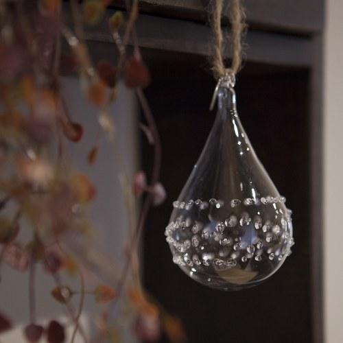 丹麥LeneBjerre 晨露水滴聖誕吊飾
