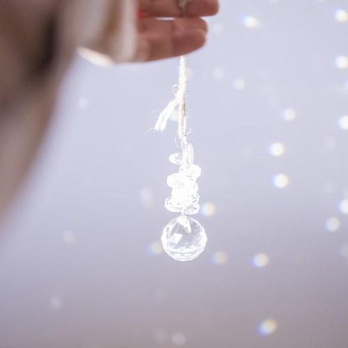 丹麥LeneBjerre 鑽石舞台聖誕吊飾