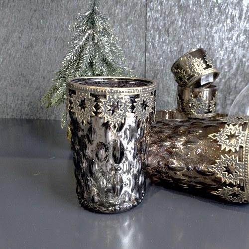 丹麥LeneBjerre 福音彌撒耶誕夜奉獻蠟燭台(深綠霧金)